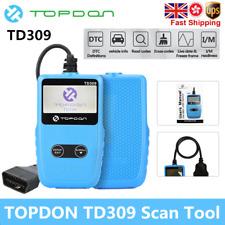 TOPDON TD309 Diagnostic Scanner OBDII EOBD Car Fault Code Reader MIL Engine I/M