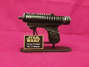 EC17 Star Wars 3D Printed Prop Blaster (with display stand) - Scout Trooper