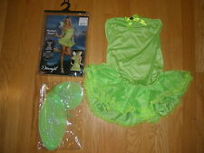 NEW WOMENS SUPER SEXY 4PC PERFECT PIXIE GIRL HALLOWEEN COSTUME SIZE LARGE 10-14