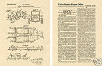 DUNE BUGGY US Patent Art Print READY TO FRAME!! Vintage Vittone Manx Meyers