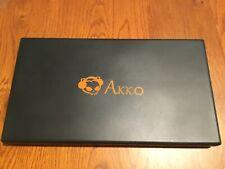 AKKO Carbon Retro 158 Keys ASA Profile Double-Shot PBT