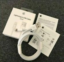 2m en Caja Original & Original Oficial Apple iPhone 7/6S/6+/5S Cargador Cable Usb