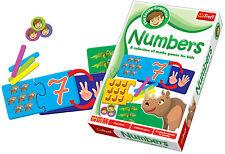 Trefl BAMBINI Piccolo Esploratore PEDAGOGICO numeri gioco per PEZZI carte