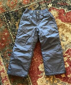 Boys R-way Gray Insulated Snowboard Ski Winter Pants Size Small 5/6