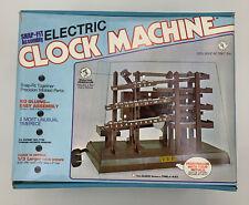 NEW NEVER ASSEMBLED VINTAGE ARROW SNAP-FIT ELECTRIC CLOCK MACHINE SP100-675