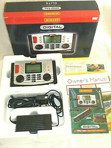 Hornby R8214 Elite DCC Digital Control Unit Boxed & Instructs 00 N Gauge Tested