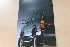 88483) Toyota 4 Runner Prospekt 05/1990