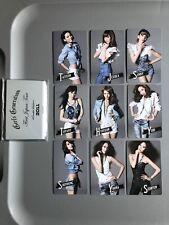 SNSD Girls Generation First Japan Tour Photocard Set Official