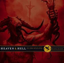 Heaven & Hell -The Devil You Know 2 LP COLORED VINYL DIO BLACK SABBATH Rocktober