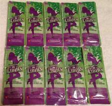 Zoe California Tan PUSHING THE LIMITS Indoor Tanning Bed Lotion 10 Packet LOT