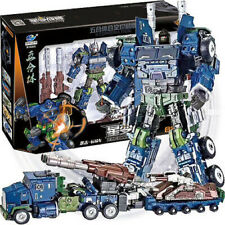 Transformers YueXing Onslaught (MBD Bruticus Compatible) Diecast Warbotron Boxed