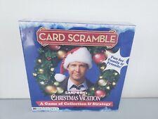 National Lampoon Christmas Vacation Card Scramble Board Game New Sealed