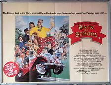 Cinema Poster: BACK TO SCHOOL 1986 (Quad) Rodney Dangerfield Sally Kellerman