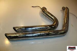 2008 Harley-Davidson Dyna Super Glide FXD Exhaust Pipe Muffler Vance and Hines
