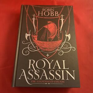 Royal Assassin - Robin Hobb - Illustrated Signed 1st Ed Hardback HB - NEW