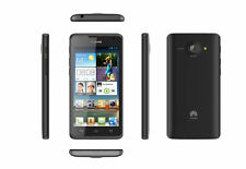 "Huawei Ascend Y330 Black 4.0"" 3MP 3G Android v4.4 Unlocked Cheap Smartphone Oz"
