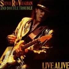 Stevie Ray Vaughan, Double Trouble - Live Alive [New CD]