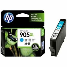 Genuine HP OfficeJet 905 XL Cyan Ink Cartridge Up To 2.5 X More Pages T6M05AA