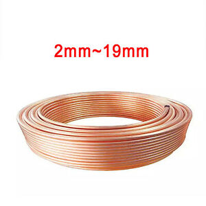 Copper Tube Pipe Coil 2/3/4/5/6/8/10/12/14/16/19mm Air Conditioning/Water/Gas