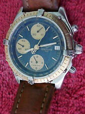 BREITLING 1884 MOD. 7750 SELF WINDING 3 DIAL CHRONOGRAPH,17 JEWELS, 3 DAY RETURN