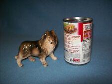 Vtg Tri-Color Sable Collie Porcelain Ceramic Dog Figure Figurine Made in Japan