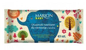 MARION Baby nawilżane chusteczki dla niemowląt/ Dry wipes for babies