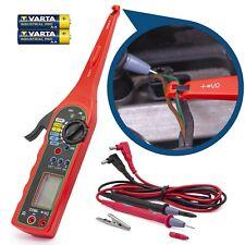 Power Tester Multimeter Digital Voltage Detector Tester LCD Display Battery