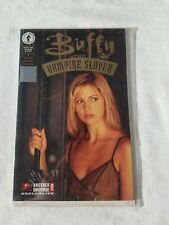 Buffy The Vampire Slayer Comic Dark Horse # 1 Wizard Authentic Holographic Seal