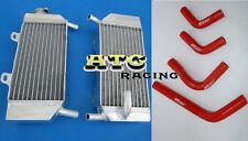 HONDA CRF250R CRF250X 04-09 05 06 07 08 crf 250 aluminum radiator and hose