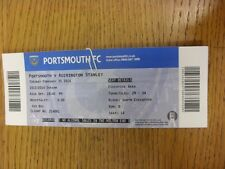 25/02/2014 Ticket: Portsmouth v Accrington Stanley  . Thanks for viewing this it