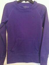 NIKE purple therma fit crew neck long sleeve pouch pocket  active wear top  XS