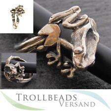 TROLLBEADS Silber Ring Baumfrosch Gr. 56 NEU