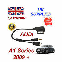 AUDI A1 Series cable For SAMSUNG Galaxy 5 AMI MMI Micro USB & AUX 3.5mm Cable