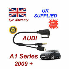 For AUDI A1 For SAMSUNG 2 AMI MMI 4F0051510M/F Micro USB & AUX 3.5mm Cable