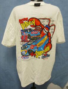 TERRY LABONTE XL SHIRT 4 SIDED NASCAR MENS VINTAGE RETRO VTG RED LOBSTER CHASE