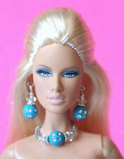 "BARBIE DOLL JEWELRY fits 11""-12"" Fashion Dolls Model Muse Poppy Dynamite FR d4e"