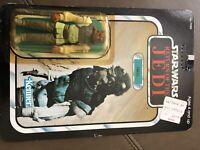 SEALED MOC Star Wars ROTJ NIKTO Jabba's Skiff Guard 79 Back UNPUNCHED