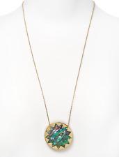 House Of Harlow 1960 Women's Gold Multi Color Large Sunburst Necklace 0107