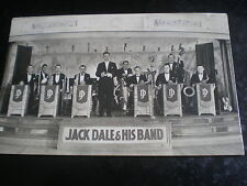 More details for old postcard jack dale and his band c1930s