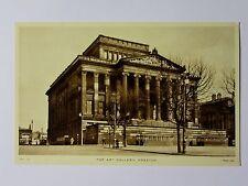 K393 - The ART GALLERY PRESTON Lancashire Postcard