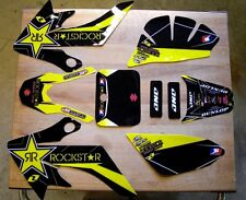 Honda Crf 50 Pit Bike Team Rockstar 2012 Graphics kit 04-12 Graphics Only