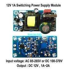 AC Converter 110V 220V to DC 12V 2A 12W Regulated Transformer Netzteil LED Power