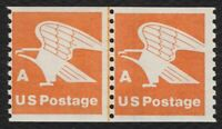 #1743 'A' Eagle, Coil Line Pair [1], Mint **ANY 4=FREE SHIPPING**