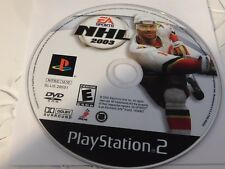 NHL 2003 (Sony PlayStation 2, 2002)Disc Only Free Shipping