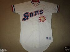 Jacksonville Suns #1 Minor League Los Angeles Dodgers Game Worn Used Jersey 38