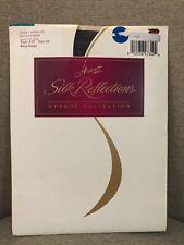 Hanes Silk Reflections Opaque Microfiber Deep Green Size E/F Control Top 1996