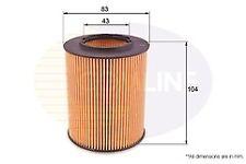 Comline EOF067 Oil Filter for BMW Z3/4,3/5/7/X3/5 petrol engines 1990-2013 6cyl