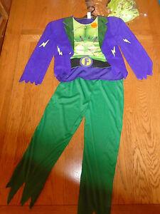 BNWT Frankenstein halloween fancy dress up. Lights. Age 9-10 yrs. Sainsbury
