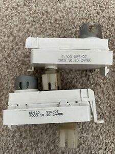 Lot of 2 - Seaga vending machine gear motors - EL920