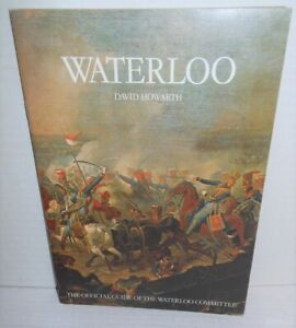 BOOK, Battle Field Guide Waterloo 1980 Edition many color photos and illus op